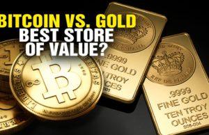 bitoin vs gold