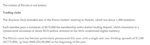 Buying or selling bitcoin in Kenya How to avoid scams