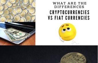Fiat currency versus cryptocurrencies