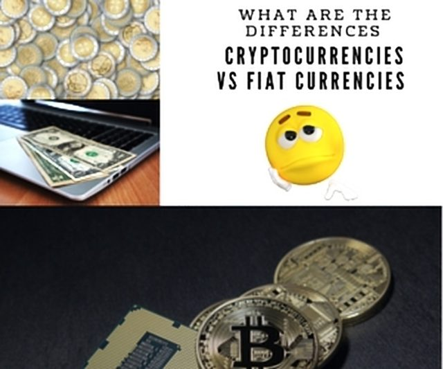 Fiat currency versus cryptocurrencies