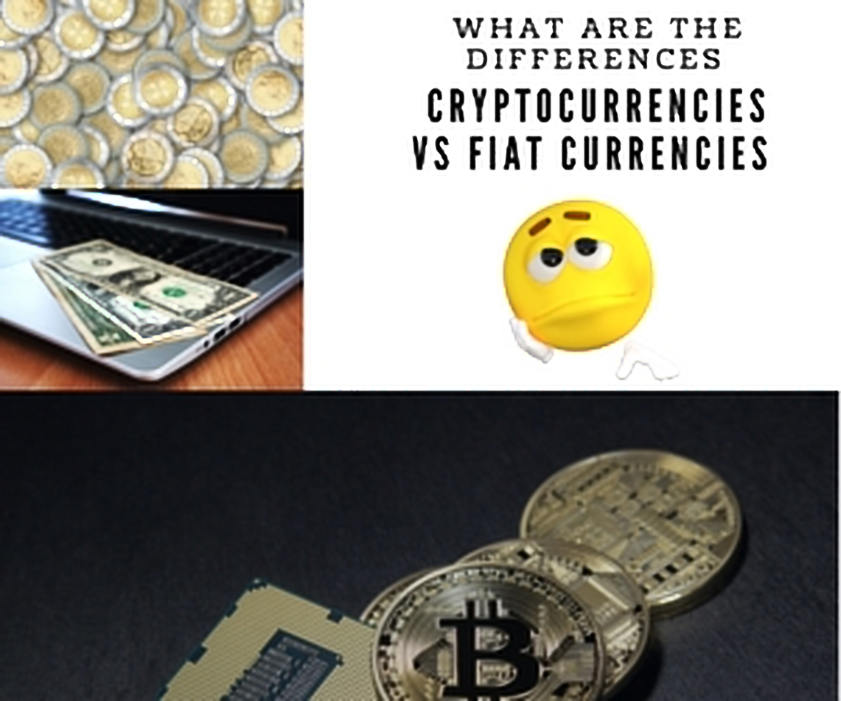 difference between cryptocurrency and fiat currency