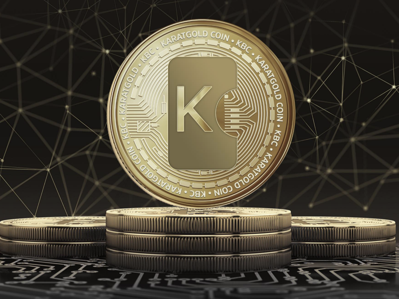 karat gold coin cryptocurrency price