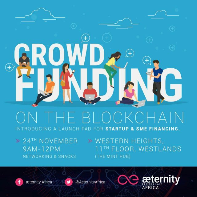 æternity Africa; crowdfunding on the blockchain