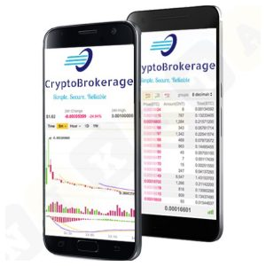 cryptobrokerage smartphone version