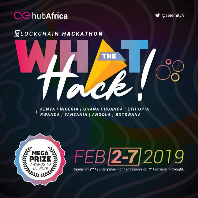 æternity hub Africa What the hack Blockchain Hackathon