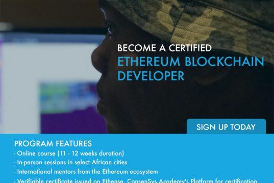 Africa Blockchain Developer Program