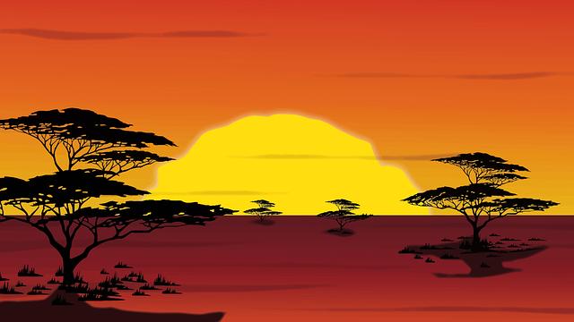 Africa Rising (Courtesy Pixabay)